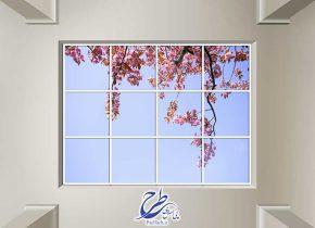 تصویر استوک آسمان مجازی گل بهاری