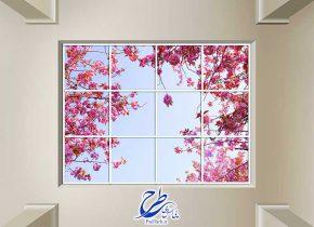 تصویر آسمان مجازی گل های بهاری