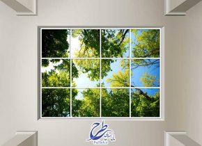 عکس با کیفیت آسمان مجازی طرح درخت