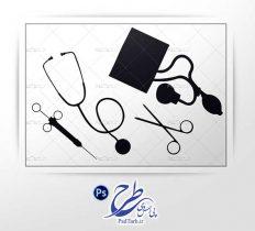 طرح لایه باز لوازم پزشکی
